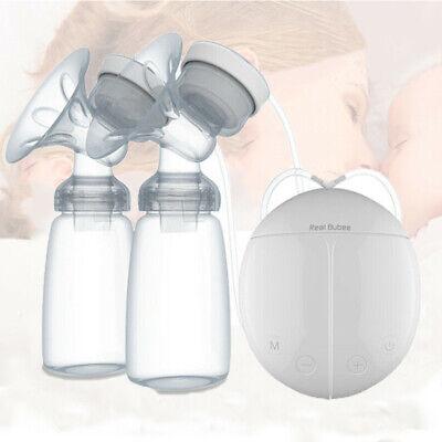 Elektrische Milchpumpe Brustpumpe Doppel Sauger Muttermilch Abpumpen