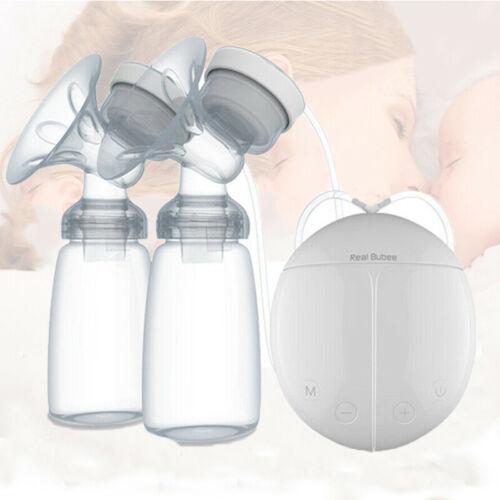 Elektrische Milchpumpe Brustpumpe Doppel Sauger Muttermilch Abpumpen Stillpumpe
