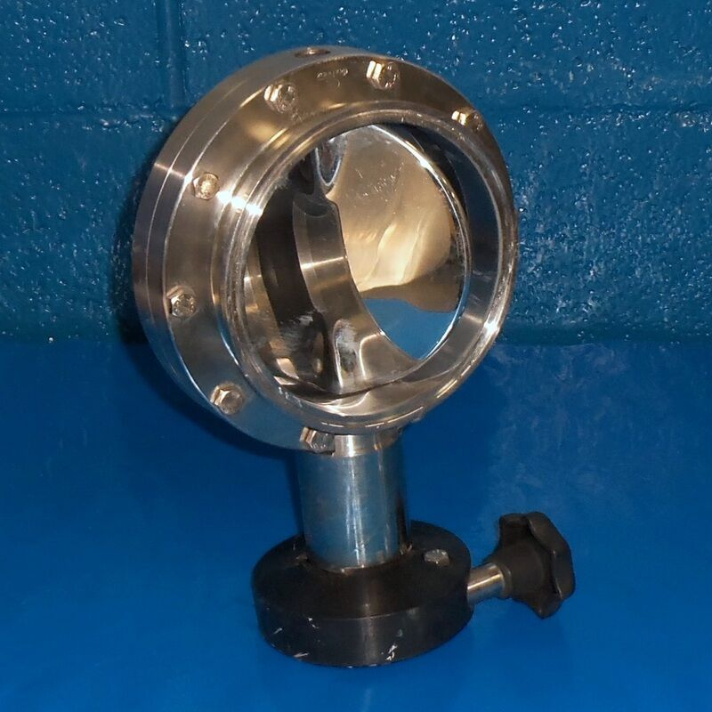 DEFINOX 6IN STAINLESS STEEL BUTTERFLY VALVE 316L