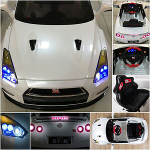 NISSAN GTR Electric Child SMART Ride On Remote Control Car