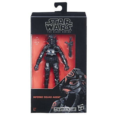 "Star Wars Hasbro The Black Series Battlefront 6"" Inferno Squad Agent Pilot NEW"