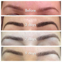 NEW!! MICROBLADING 3D EYEBROW EMBROIDERY TRAVELLING TO YOUR CITY