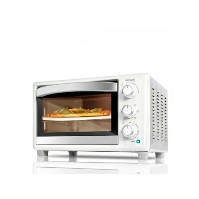 Cecotec Horno de convección con piedra para pizza.Horno eléctrico multifunción d