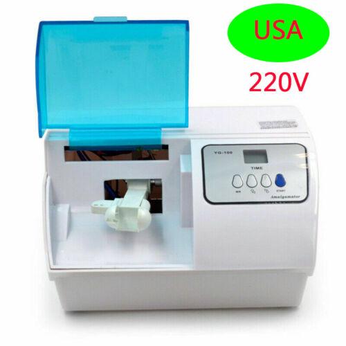 Electric Dental Lab Amalgamator Mixer Amalgam Capsule Mixing Machine 220V
