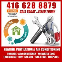 Heating & Cooling repair & Installation 49$ service call