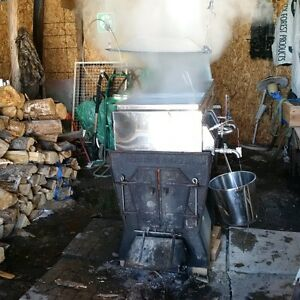 2' x 6' Dommion and Grimm Maple Syrup Evaporator $ 4,200