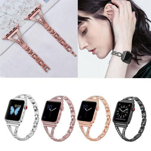 Jewellery - Apple Watch Band Series 6 5 4 3 2 SE Stainless Steel Bracelet iWatch Strap 40/44