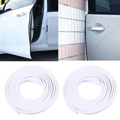 2x 6m Car Door Edge Scratch Guard Protector Strip Trim Seal Moulding Universal