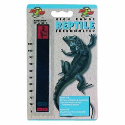 LM Zoo Med High Range Reptile Thermometer 70-105 Degrees -