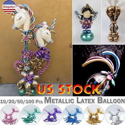 Magic Long Animal Flower Party Twist Tying Making Latex Balloons Fashion Color - Balloon Twisting