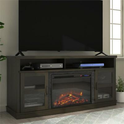 "Ameriwood Home Ayden Park Fireplace TV Stand up to 65"" in Es"