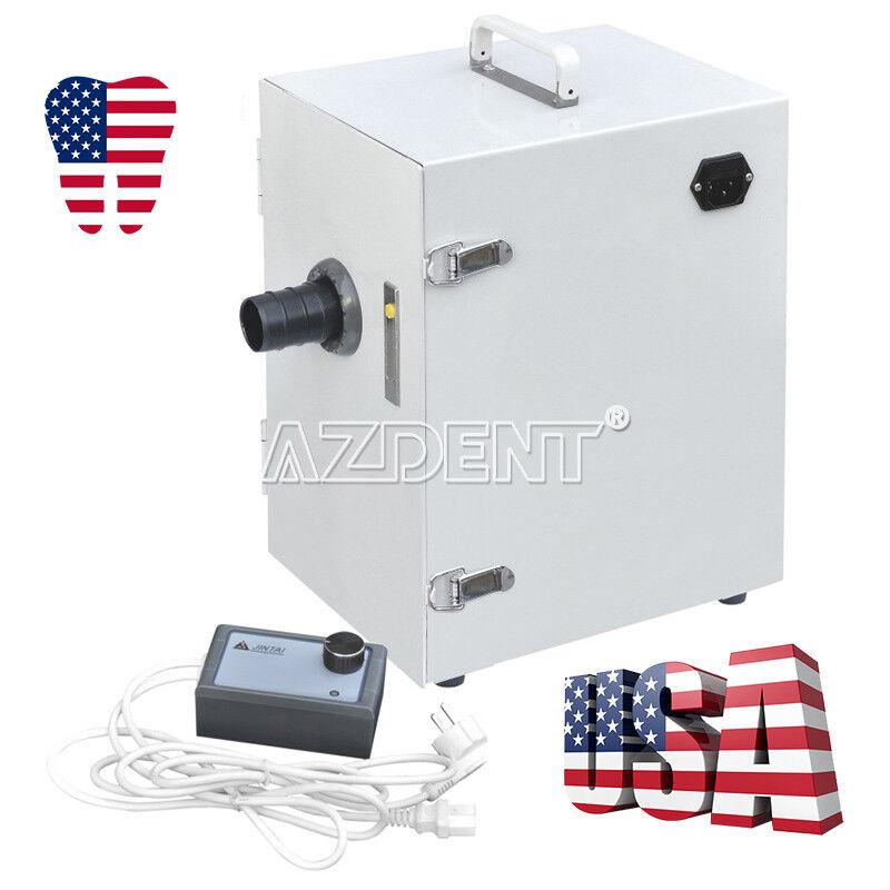 NEW Dental Lab Digital Single-Row Dust Collector Vacuum Cleaner 370W 10Kg