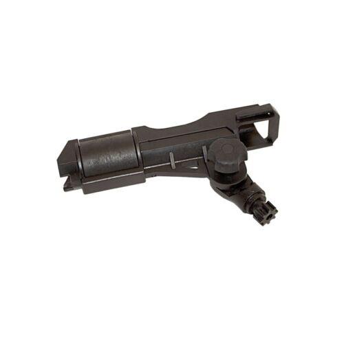 ALEKO Heavy Duty Adjustable Rod Holder Without Base Black Fi