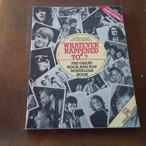 Whatever Happened To ...? Great Rock and Pop Nostalgia Book Kitchener / Waterloo Kitchener Area image 1
