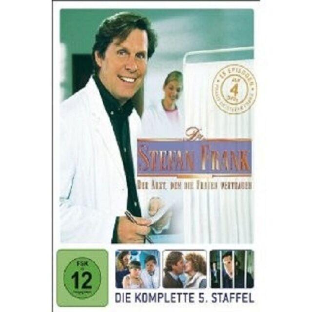 """DR. STEFAN FRANK """"STAFFEL 5"""" 4 DVD TV SERIE NEU"""