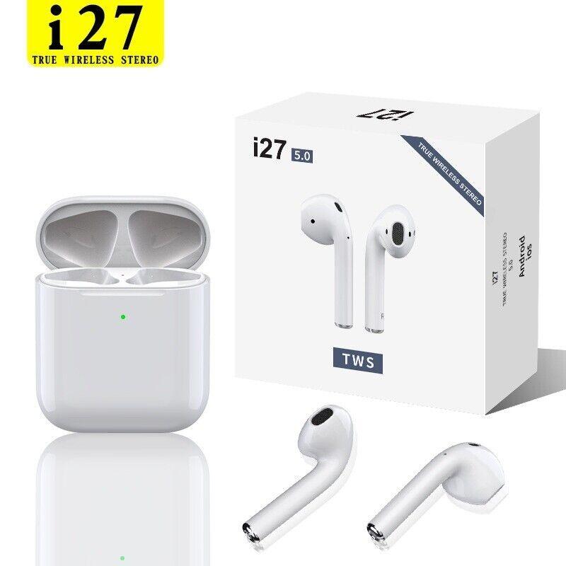Wireless Bluetooth Headphones For Earpods Apple iPhone 7 8 X