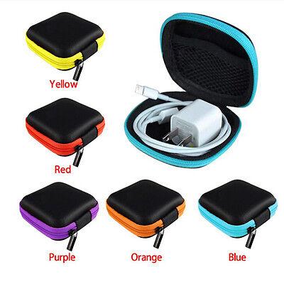 Pocket Hard Case Storage Bag For Headphone Earphone Earbuds TF Card IU