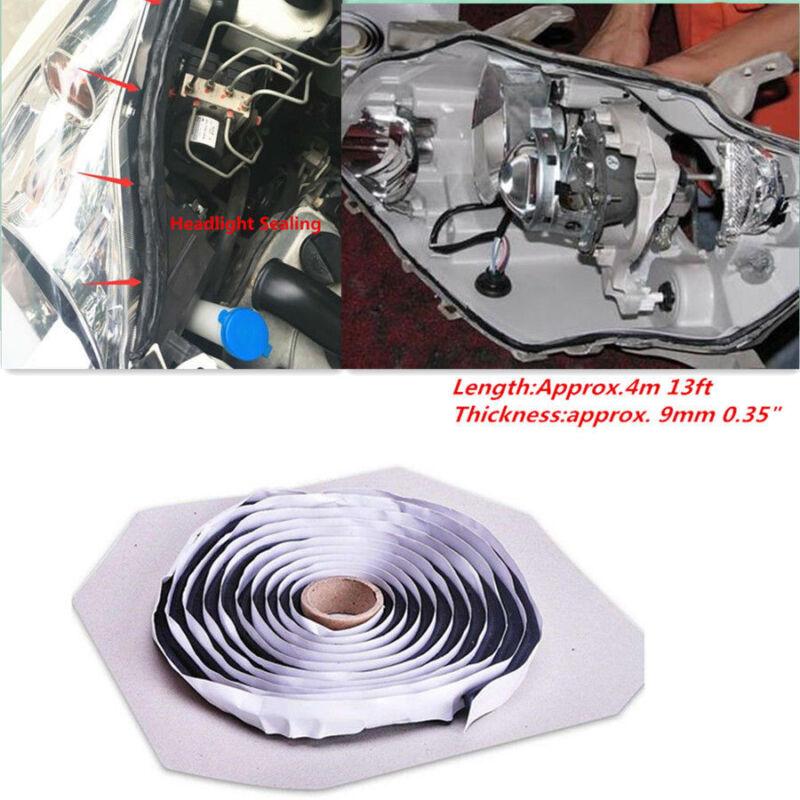 Car Headlight Windshield Reseal 4M Butyl Rubber Glue Trim Retrofit Sealant Strip