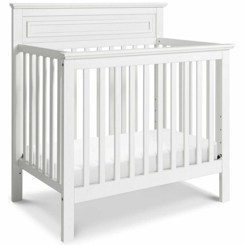 DaVinci Autumn 4-in-1 Convertible Mini Crib in White