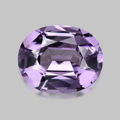 1.01cts MASTER OVAL CUT NATURAL TANZANIAN LAVENDER SPINEL VIDEO IN DESCRIPTION