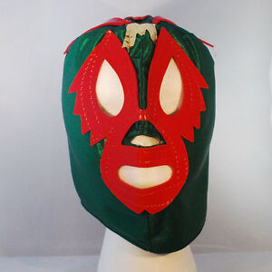 Mil mascaras green kids mask lucha libre wwe lucha libre halloween new