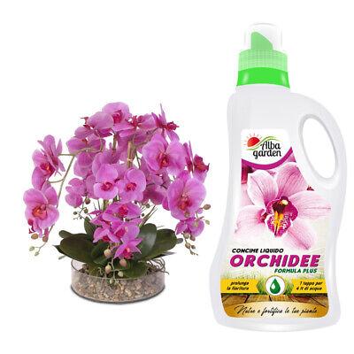 Abono Líquido Fertilizante Nutritivo Npk Para Orquideas Flores Floración 1 Lt