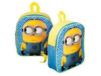 Minion back pack rucksack