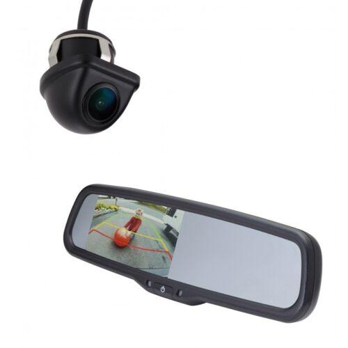 "Echomaster K204M backup kit w under lip-mount camera + 4.3"""