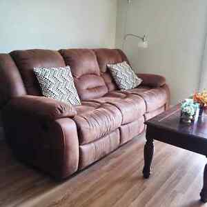 Very New and Comfortable Recliner Set Only $700