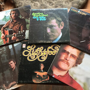 Gordon Lightfoot Vinyl albums