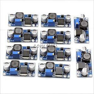 10 pcs DC-DC LM2596 Step Down Adjustable Converter Power Supply Module1.3V-35V