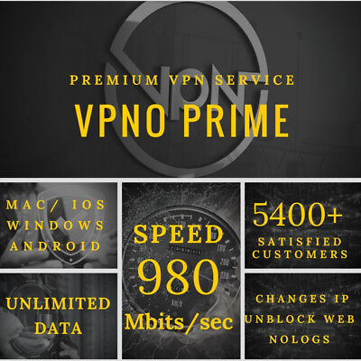 Vpn Account 1 Year Service   Unlimited Data 1 User Server   Fast Email Delivery