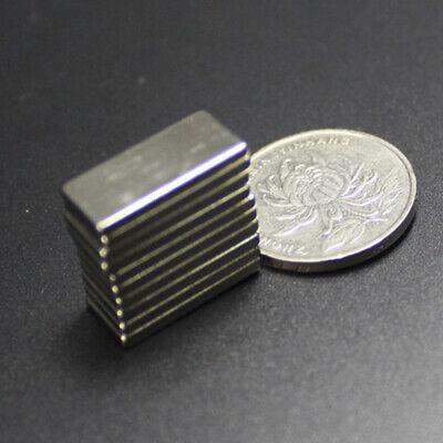 1-50pcs Various Rectangular Bar Super Strong N52 Grade Neodymium Ndfeb M Zcf