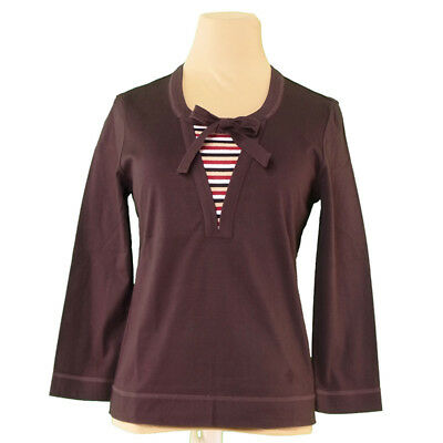 Burberry Tops Blouses Brown Woman Authentic Used L1838