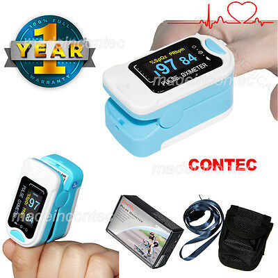 (US Warhouse)Fingertip Pulse Oximeter,Spo2 Monitor,Oxygen saturation,Home/Clinic
