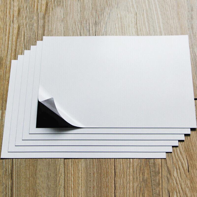 1sheet A4 Size Magnetic Inkjet Print Sheet Soft Rubber Board Strong Flexible