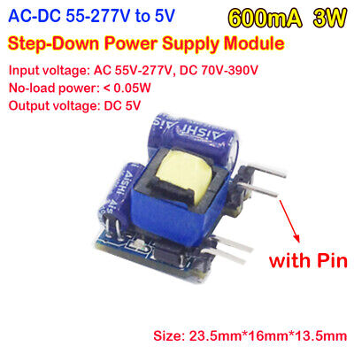Ac-dc Isolated Power Switch 110v 220v To 5v 3w Step-down Buck Converter Module