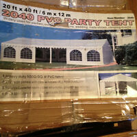 20x40 party tent!