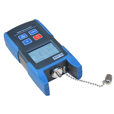 Premium Fiber Optic Power Meter Optical Tester Scfc Adapter -7010dbm