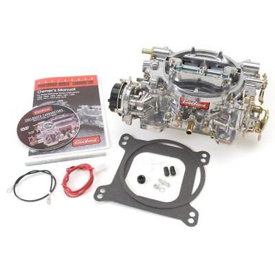 Edelbrock Carburetor 1403; Performer 500 cfm 4 Barrel Vacuum Secondary Satin