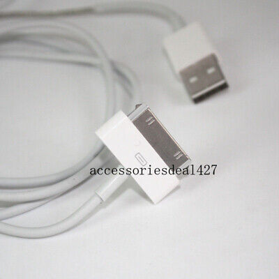 3FT USB 2.0 Charger Data Sync Cable Cord For iPhone 3G/4/4S iPad 2 iPod nano1-6