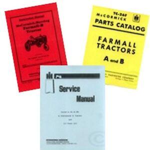 FARMALL-B-SERVICE-SHOP-OPERATORS-OWNERS-PARTS-MANUAL-IH