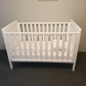 Baby Excluding Linen And Protectors. Boori Urban Cot And Mattress Nursery Furniture