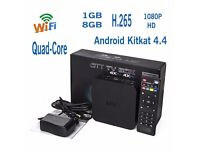 2016 MXQ Quad Core Android 4.4 TV Box Fully Loaded KODI/XBMC Free Sports, Movies,Tv shows