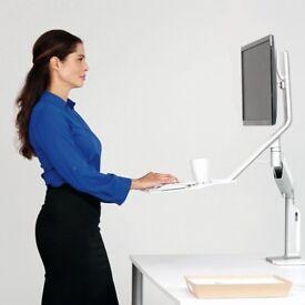 Sit / Stand Humanscale QuickStand Lite. BNIB