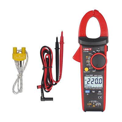 Uni-t Ut216c True Rms Digital Clamp Meter Ac Dc Multimeter Ncv Vfc Temp Tester