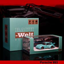 PGM 1:64 Prosche 911 RWB 993 JPS ordinary//Luxury Diecast Model Car