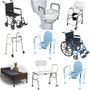 Sale!Wheelchair,Commode,Bath Chair,Transfer Bench,hospital Bed