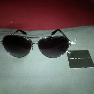 "Brand New Marc Jacobs ""Ruthenium"" Sunglasses"