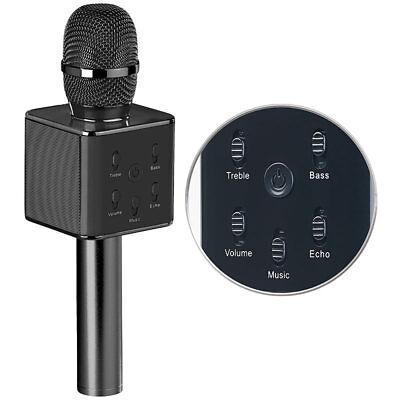 Microphone: Karaoke-Mikrofon mit Bluetooth, MP3-Player, Lautsprecher und Akku (Karaoke Und Mikrofon)